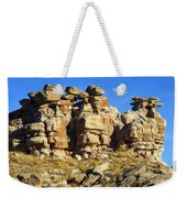 Petrified Forest Rock Formations Weekender Tote Bag