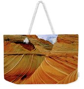 Petrified Sand Dunes The Wave Weekender Tote Bag