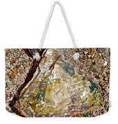 Petrified Wood In Crystal Forest In  Petrified Forest National Park-arizona Weekender Tote Bag