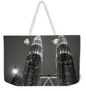 Petronas Towers At Night Weekender Tote Bag