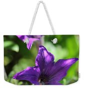 Petunia Hybrid From The Sparklers Mix Weekender Tote Bag