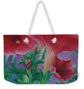 Petunia Skies Weekender Tote Bag