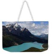 Peyto Lake Canadian Rockies Weekender Tote Bag
