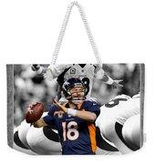 Peyton Manning Broncos Weekender Tote Bag