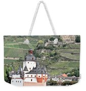 Pfalzgrafenstein With Burg Gutenfels  Weekender Tote Bag