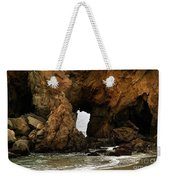 Pfeiffer Beach Rocks In Big Sur Weekender Tote Bag