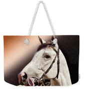 Phantom Lover Race Horse Looking On Weekender Tote Bag