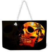 Phantom Skull Weekender Tote Bag by Shane Bechler