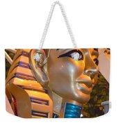Pharaoh's Canoe Weekender Tote Bag
