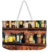 Pharmacist - Mortar Pestles And Medicine Bottles Weekender Tote Bag