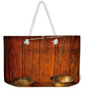 Pharmacy -apothecary Scale Weekender Tote Bag