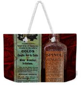 Pharmacy - Cold Remedy Weekender Tote Bag