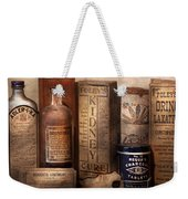 Pharmacy - Cures For The Bowels Weekender Tote Bag