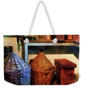 Pharmacy - Medicine Bottles And Baskets Weekender Tote Bag