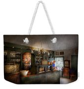 Pharmacy - Morning Preparations Weekender Tote Bag by Mike Savad