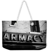 Pharmacy - Storefronts Of New York Weekender Tote Bag
