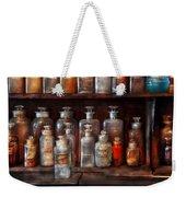 Pharmacy - The Chemistry Set Weekender Tote Bag by Mike Savad