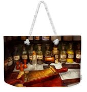Pharmacy - The Dispensary  Weekender Tote Bag by Mike Savad