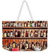 Pharmacy - The Medicine Shelf Weekender Tote Bag