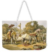 Pheel Khana, Or Elephants Quarters Weekender Tote Bag