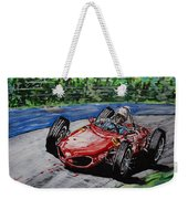 Phil Hill At Nurburgring. Weekender Tote Bag