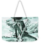 Phil Lynott In Howth Weekender Tote Bag