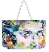 Phil Ochs - Watercolor Portrait Weekender Tote Bag