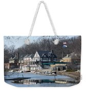 Philadelphia - Boat House Row Weekender Tote Bag