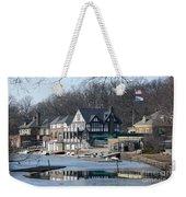 Philadelphia - Boat House Row Weekender Tote Bag