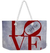 Philadelphia City Of Brotherly Love  Weekender Tote Bag