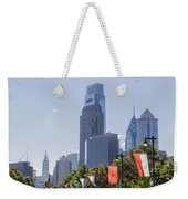 Philadelphia - City On The Rise Weekender Tote Bag