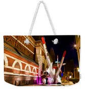 Philadelphia Crash Landing Weekender Tote Bag