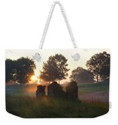 Philadelphia Cricket Club At Sunrise Weekender Tote Bag by Bill Cannon