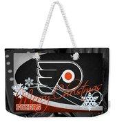 Philadelphia Flyers Christmas Weekender Tote Bag