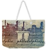 Philadelphia Freedom Weekender Tote Bag