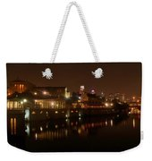 Philadelphia From The Schuykill Weekender Tote Bag