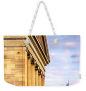 Philadelphia Museum Of Art Facade Weekender Tote Bag