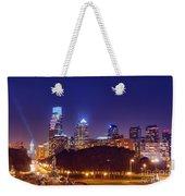 Philadelphia Nightscape Weekender Tote Bag