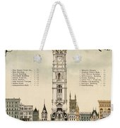 Philadelphia Skyscrapers Weekender Tote Bag