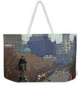 Philadelphia - The Parkway Weekender Tote Bag
