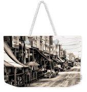 Philadelphia's Italian Market Weekender Tote Bag by Bill Cannon
