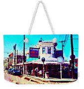 Philadelphia's Pat's Steaks Weekender Tote Bag