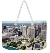 Philip A Hart Plaza Detroit Weekender Tote Bag