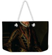 Philip II Of Spain C.1570 Weekender Tote Bag