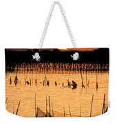 Philippines Manila Fishing Weekender Tote Bag by Anonymous