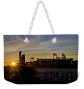 Phillies Citizens Bank Park At Dawn Weekender Tote Bag