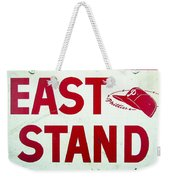 Phillies East Stand Sign - Connie Mack Stadium Weekender Tote Bag