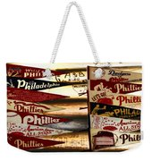 Phillies Pennants Weekender Tote Bag