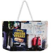Philly Cheese Steak Cart Weekender Tote Bag