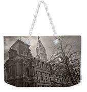 Philly City Hall Weekender Tote Bag